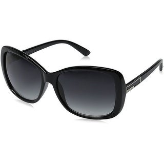 Women's Plastic Sunglasses - Black