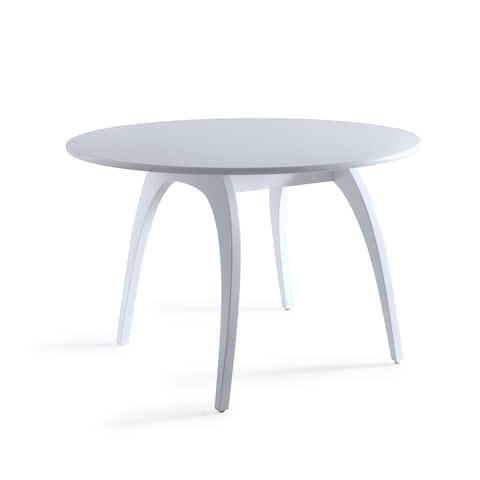 Posh Pollen Beckett White Dining Coference Table