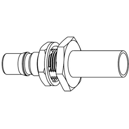 Amphenol RF RF Connector QMA Jack Bulkhead for RG-58 Cable
