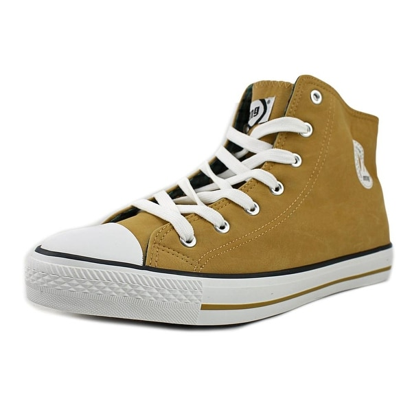 MTNG 15381 Men Round Toe Synthetic Tan Sneakers
