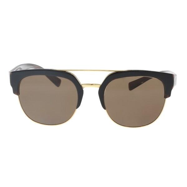 ef0ba4c1f66b Dolce   Gabbana DG4317 31578G Black Gradient Square Sunglasses - 53 ...
