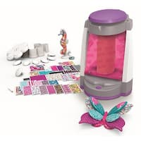 Graphic Skinz Design Studio Girl Motorized Vacuum Chamber Adhesive Transfers Toy.
