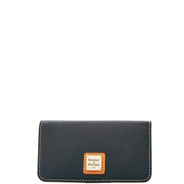 Dooney & Bourke Pebble Grain Slim Phone Case (Introduced by Dooney & Bourke at $68 in Sep 2014) - Black