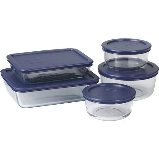 Shop World Kitchen Ekco 10pc Pyrex Storage Set 6021224