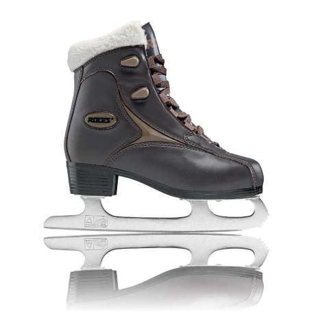 Roces Women's Fur Ice Skate Superior Italian Style 450540 00010/450618 00001