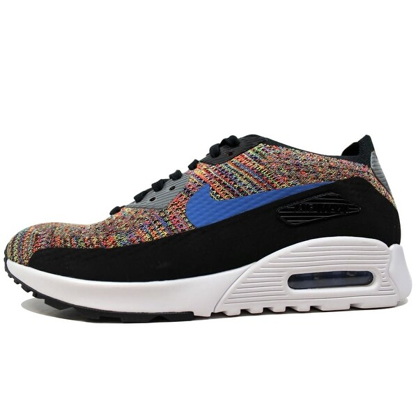 Shop Nike Air Max 90 Ultra 2.0 Flyknit BlackMedium Blue