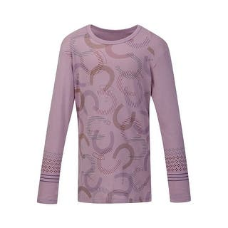 Kerrits English Shirt Girls Hoof Print Long Sleeve Soft 60482|https://ak1.ostkcdn.com/images/products/is/images/direct/b4200338167f8ce5b8727dd5e0d86eb5d1d49765/Kerrits-English-Shirt-Girls-Hoof-Print-Long-Sleeve-Soft-60482.jpg?impolicy=medium