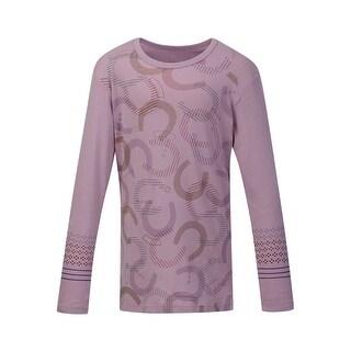 Kerrits English Shirt Girls Hoof Print Long Sleeve Soft