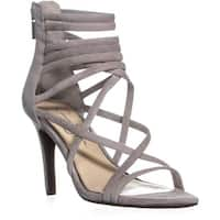 Jessica Simpson Harmoni Strappy Heeled Sandals, Warm Stone - 6.5 us / 36.5 eu