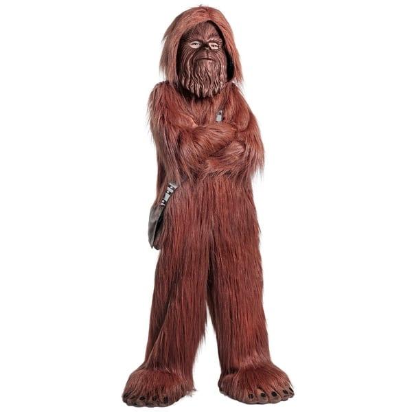 Kids Star Wars Premium Chewbacca Jumpsuit Costume