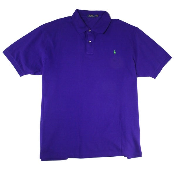 Classic Polo Ralph Purple Size Mens Lauren Rugby Shirt Fit Xlt dBeCxWro