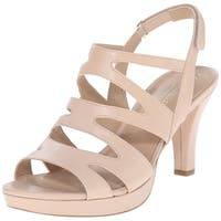 Naturalizer Womens Pressley Open Toe Casual Slingback Sandals