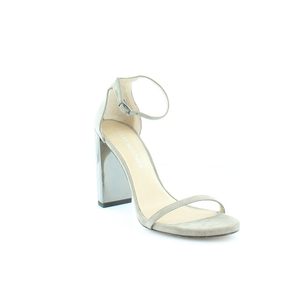 Stuart Weitzman Plexy Women's Sandals & Flip Flops Rock - 8