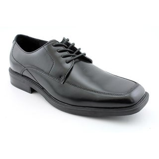 Kenneth Cole Reaction Serve Up Men  Wingtip Toe Leather Black Oxford