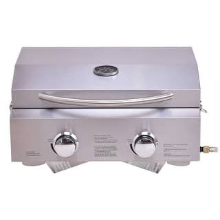 Costway 2 Burner Portable BBQ Table Top Propane Gas Grill Stainless Steel|https://ak1.ostkcdn.com/images/products/is/images/direct/b425a521e1c9af1f4324f0686113a4622a9208c1/Costway-2-Burner-Portable-BBQ-Table-Top-Propane-Gas-Grill-Stainless-Steel.jpg?impolicy=medium