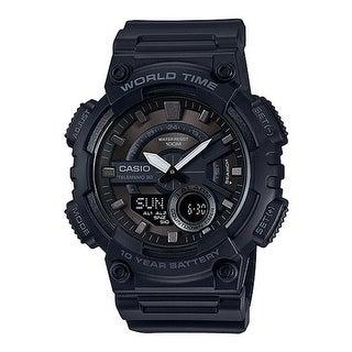 """""""Casio 1BV Analog Digital Watch - Black Digital Watch"""""""