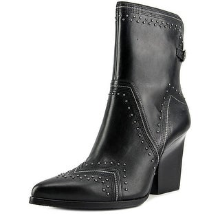 Donald J Pliner Vegas Pointed Toe Leather Ankle Boot