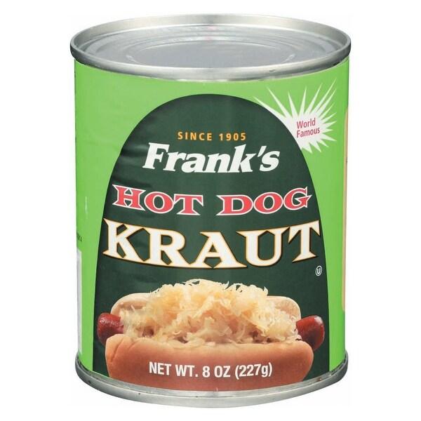 Frank's Kraut - Hot Dog - Case of 12 - 8 oz