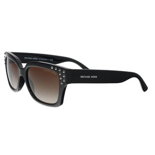 Michael Kors MK2066 300913 Black Rectangle Sunglasses - 55-17-140
