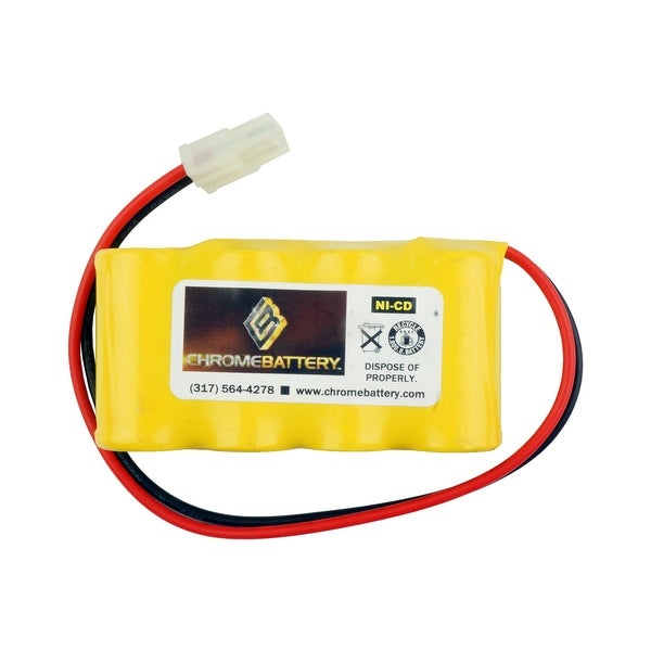 Emergency Lighting Replacement Battery for Interstate - NIC0095