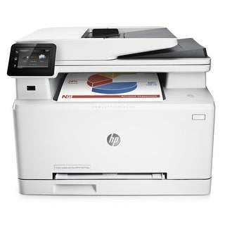 Refurbished Refurbished HP Color LaserJet Pro MFP M277DW Printer w/ Duty Cycle: 30,000 Pages