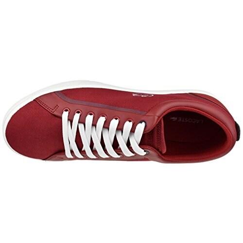 Lacoste Men's Shoes Lenglen 216 Lace Sneaker 12 M Red