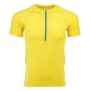 La Sportiva Men's Kuma T-Shirt - YELLOW - L