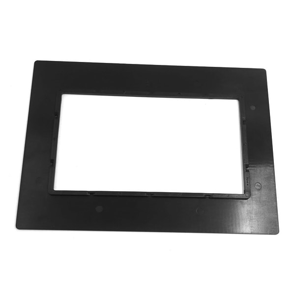 Universal Black Plastic Car Audio Frame Holder Stereo System Installation Panel