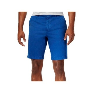 Michael Kors Mens Shorts Pleated Flat Front