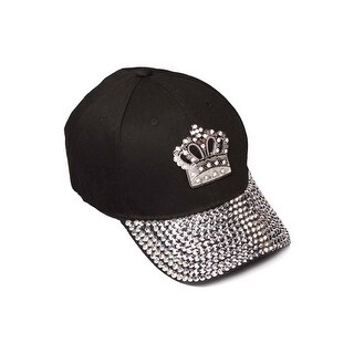 Womens Sequiened Baseball Cap w/ Crown