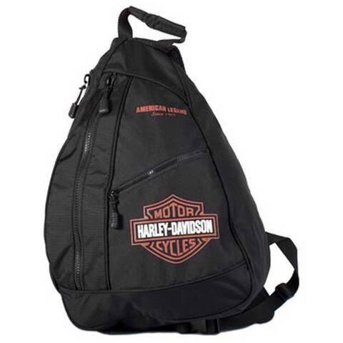 Harley-Davidson Bar & Shield Sling Backpack BP1957S-ORGBLK - Extra Large
