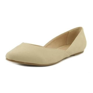 Mix No 6 Addesso   Round Toe Canvas  Ballet Flats