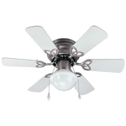 Canarm CF3230651S Twister Single Light 6 Blade Hugger Ceiling Fan   Free  Shipping Today   Overstock.com   23965229