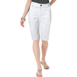 Lauren Ralph Lauren Womens Bermuda, Walking Shorts Active Solid