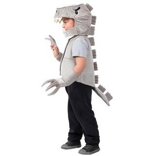 Child Robo T-Rex Dino Halloween Costume Vest