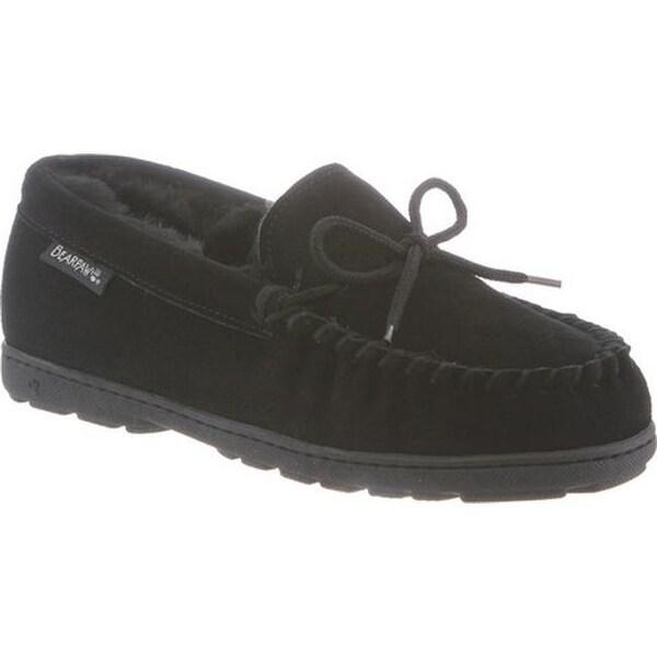 f235998e9b4 Shop Bearpaw Women s Mindy Moccasin Slipper Black II - On Sale ...
