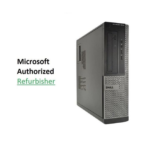 Dell 3010 DT, intel i5 3.4GHz, 8GB, 500GB, W10 Pro Refurbished