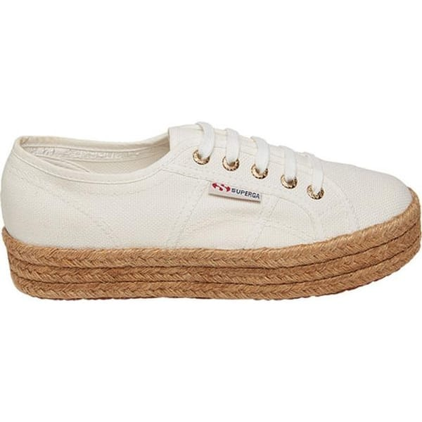 better superior quality outlet online Shop Superga Women's 2730 Cotropew Sneaker White Canvas ...