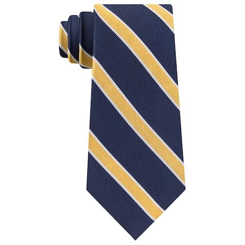 Tommy Hilfiger Mens Stripe Self-Tied Necktie - One Size