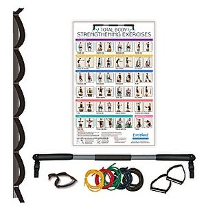 ExerBand Portable Home Gym with Exercise Tubing