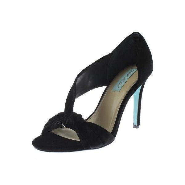 Betsey Johnson Womens Abi Dress Sandals Solid Knot