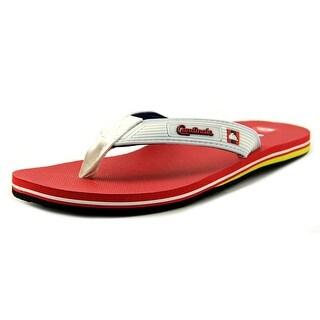 Quiksilver St Louis Cardinals Open Toe Synthetic Flip Flop Sandal