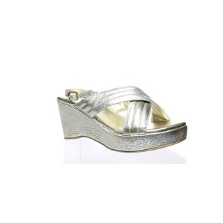 b801e9490d Shop Amiana Womens Gold Ankle Strap Heels EUR 38 - On Sale - Free Shipping  On Orders Over $45 - Overstock - 25586082