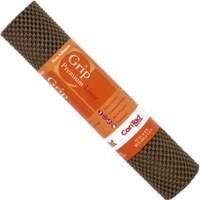 "Con-Tact 04F-C6L1B-06 Premium Grip Shelf Liner, 12""x4', Chocolate"