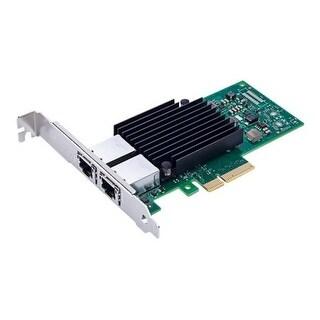 Axiom Memory Solution,Lc - Axiom 10Gbs Dual Port Rj45 Pcie 3.0 X4 Nic Card For Dell - 406-Bbku