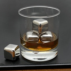 Stainless Steel Whiskey Stones  Set of 4