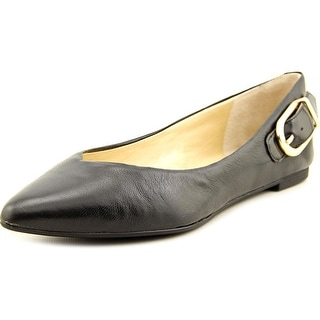 Marc Fisher Manette Pointed Toe Leather Flats