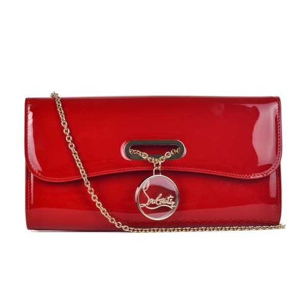 f1057194caf Shop Christian Louboutin Womens Riviera Clutch Rouge Lipstick Red ...