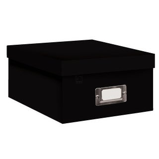 Pioneer Photo Albums B-1BLK Photo Storage Box (Black)