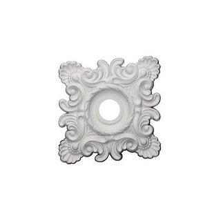"""Ekena Millwork CM18CR 18"""" Wide Crawley Ceiling Medallion"""